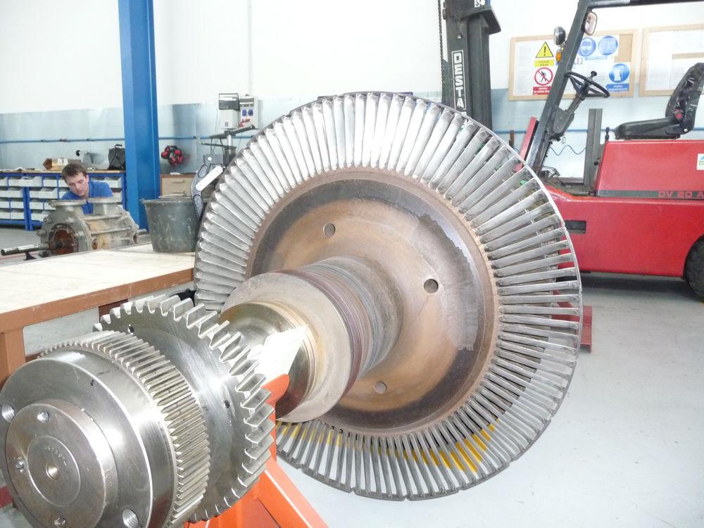 фото ротора турбины
